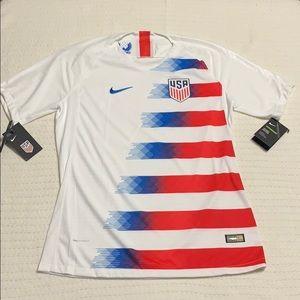 Nike Men's USA Vapor Home Soccer Jersey Size L